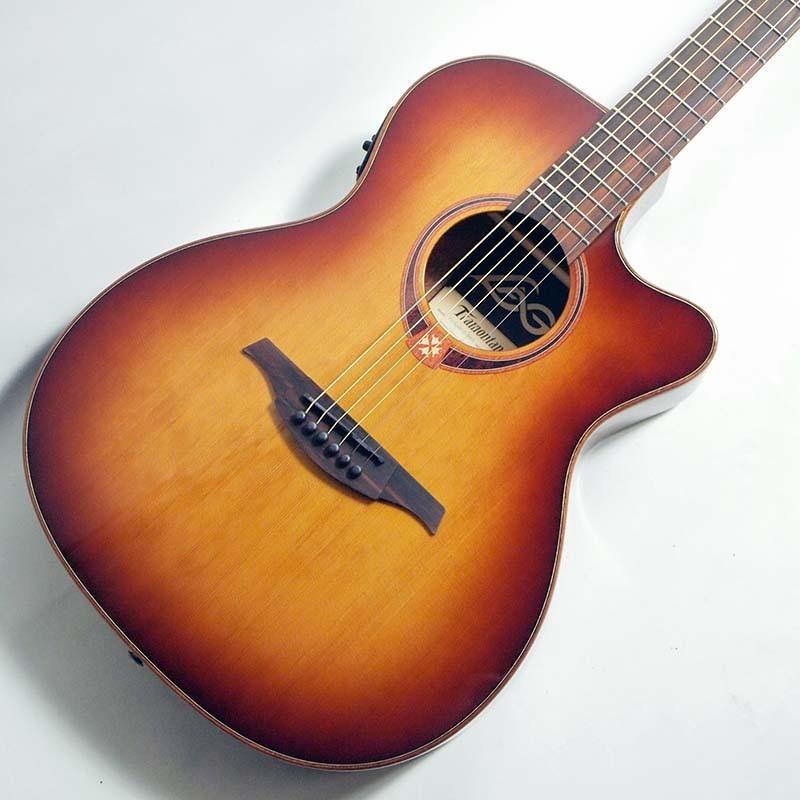 LAG GUITARS エレアコ T118ASCE-BRS【ラグ・ギターズ】 【薄型ボディ】