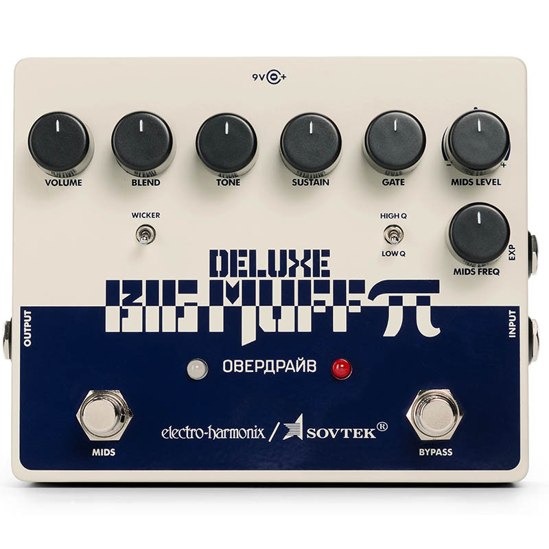 Electro Harmonix Sovtek Deluxe Big Muff Pi ファズ/ディストーション【エレクトロハーモニクス】