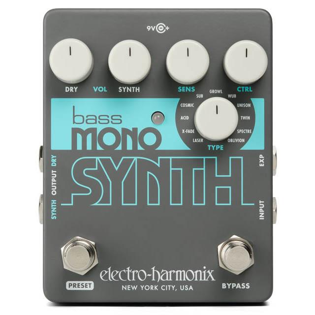 Electro Harmonix Bass Mono Synth ベースシンセサイザー【エレクトロハーモニクス】