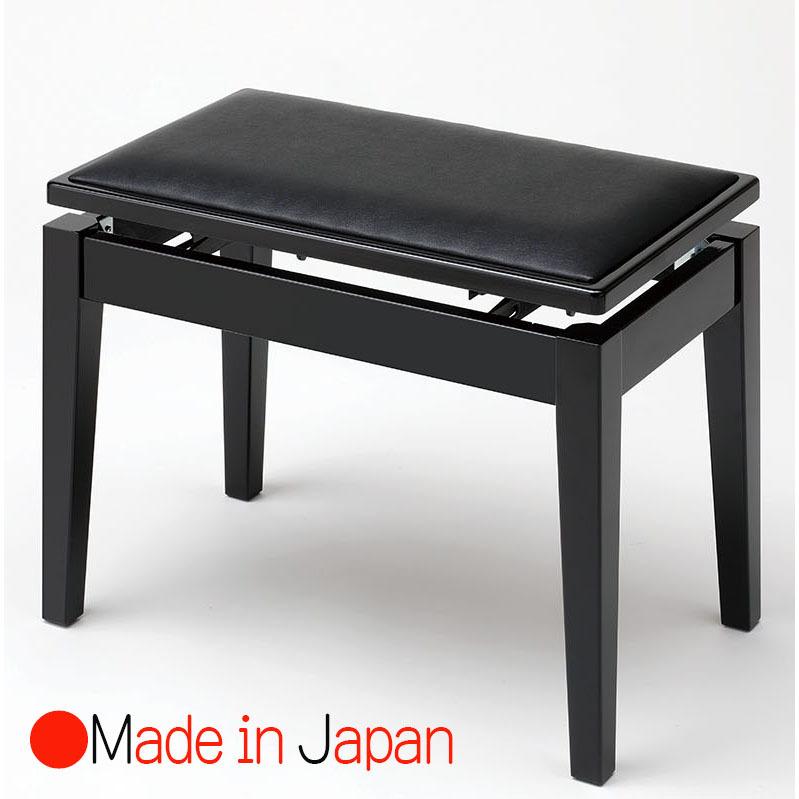 甲南 MK-55 黒塗 ピアノ椅子(ベンチタイプ)日本製