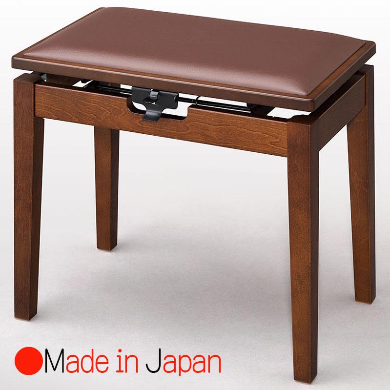 甲南 MK-55 ウォルナット塗 ピアノ椅子(ベンチタイプ)日本製
