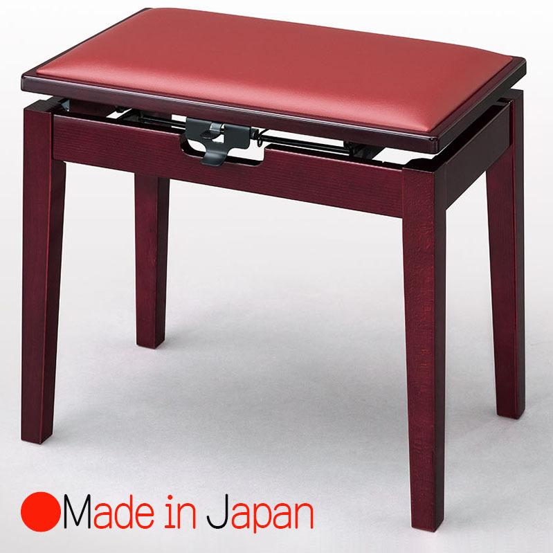 甲南 MK-55 Kマホガニー塗 ピアノ椅子(ベンチタイプ)日本製