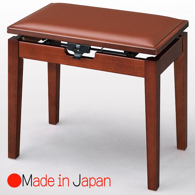 甲南 MK-55 Yマホガニー塗 ピアノ椅子(ベンチタイプ)日本製