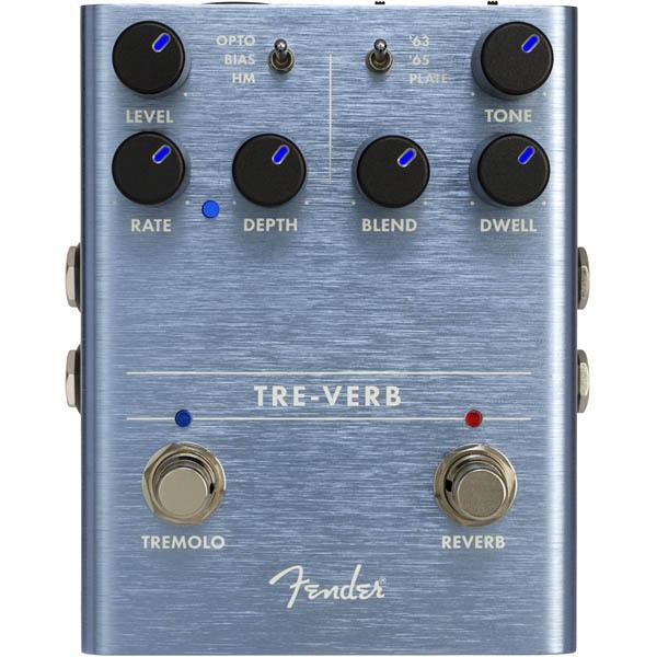 Fender Tre-Verb Digital Reverb/Tremolo トレモロ/リバーブ【フェンダーエフェクター】