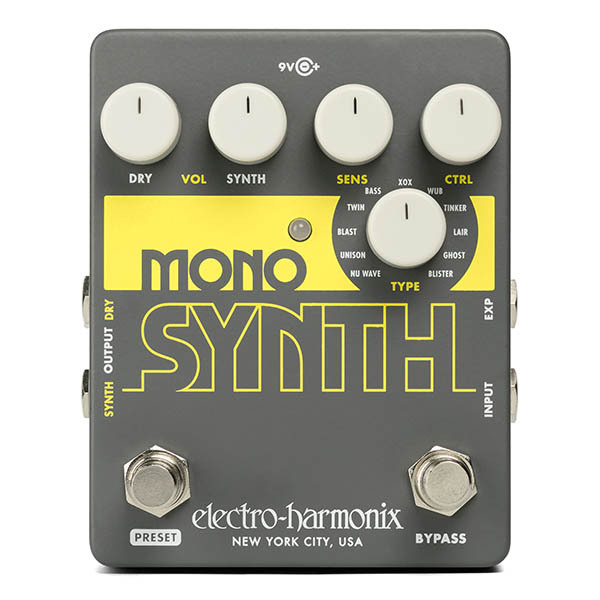 Electro Harmonix Mono Synth Guitar Synthesizer ギターシンセサイザー【エレクトロハーモニクス】