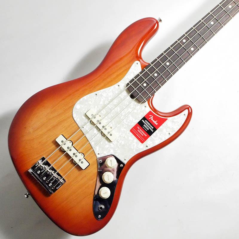 Fender Limited Edition Lightweight Ash American Professional Jazz Bass Sienna Sunburst【フェンダージャズベース】