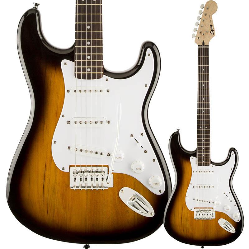 Squier by Fender Bullet Strat with Tremolo Brown Sunburst【スクワイア フェンダーストラトキャスター】