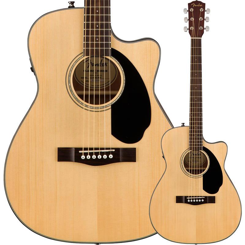 Fender/エレアコ CC-60SCE Concert, Walnut Fingerboard, Natural 【フェンダー】