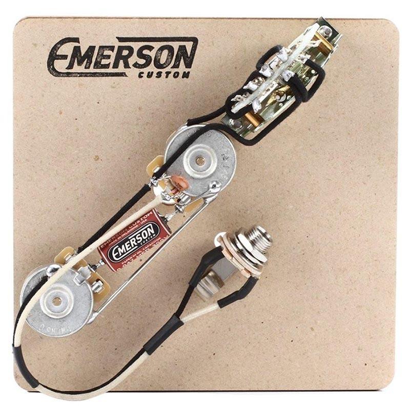EMERSON Custom T4-250K テレキャスター用プリワイヤードキット【エマーソンカスタム】