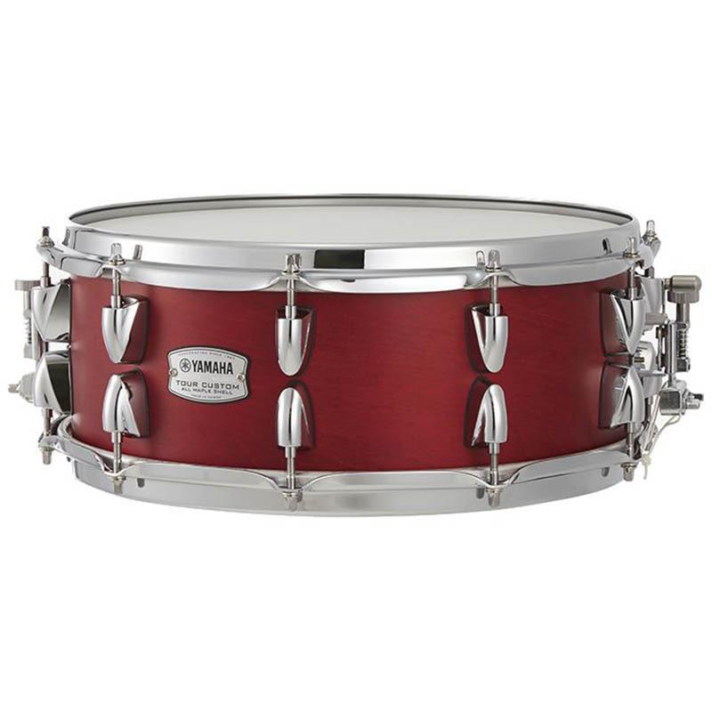 YAMAHA Tour Custom Snare Drums TMS1455 CAS Candy Apple Satin スネアドラム【ヤマハ】