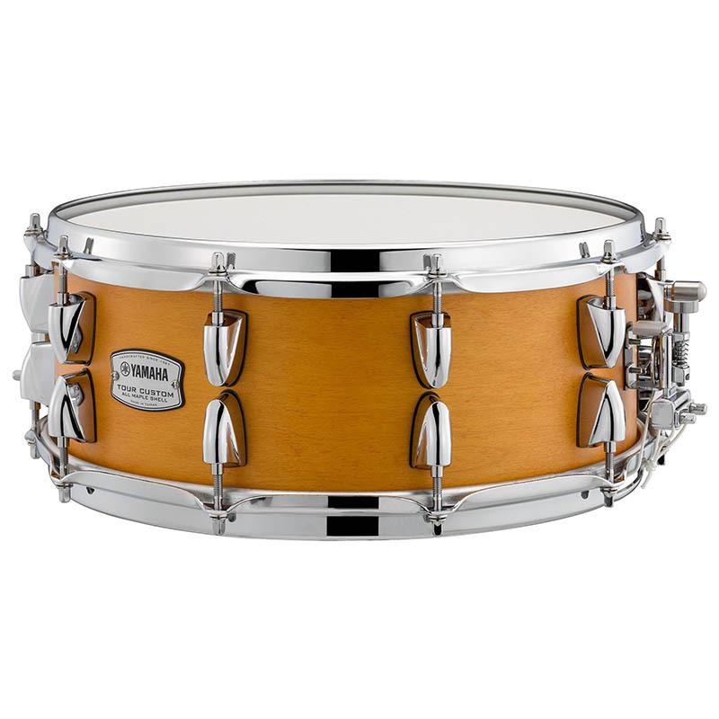 YAMAHA Tour Custom Snare Drums TMS1455 CRS Caramel Satin スネアドラム【ヤマハ】