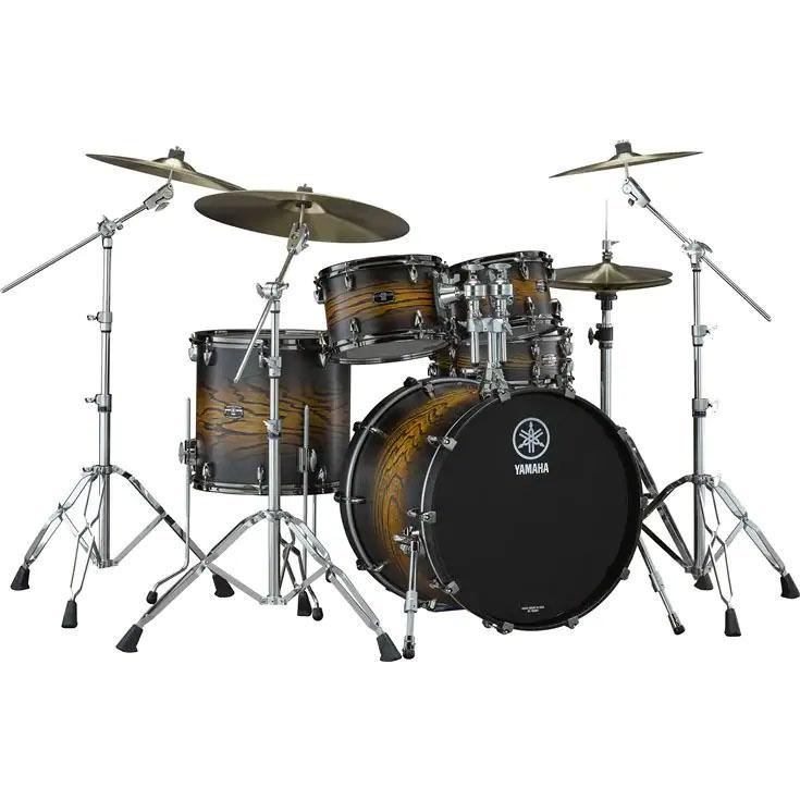 YAMAHA LIVE CUSTOM HYBRID OAK ドラムセット【LHB2216 + LHP6F3】カラーアースサンバースト ※離島発送不可