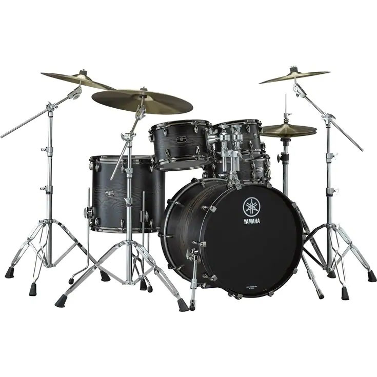 YAMAHA LIVE CUSTOM HYBRID OAK ドラムセット【LHB2216 + LHP6F3】カラーチャコールサンバースト ※離島発送不可
