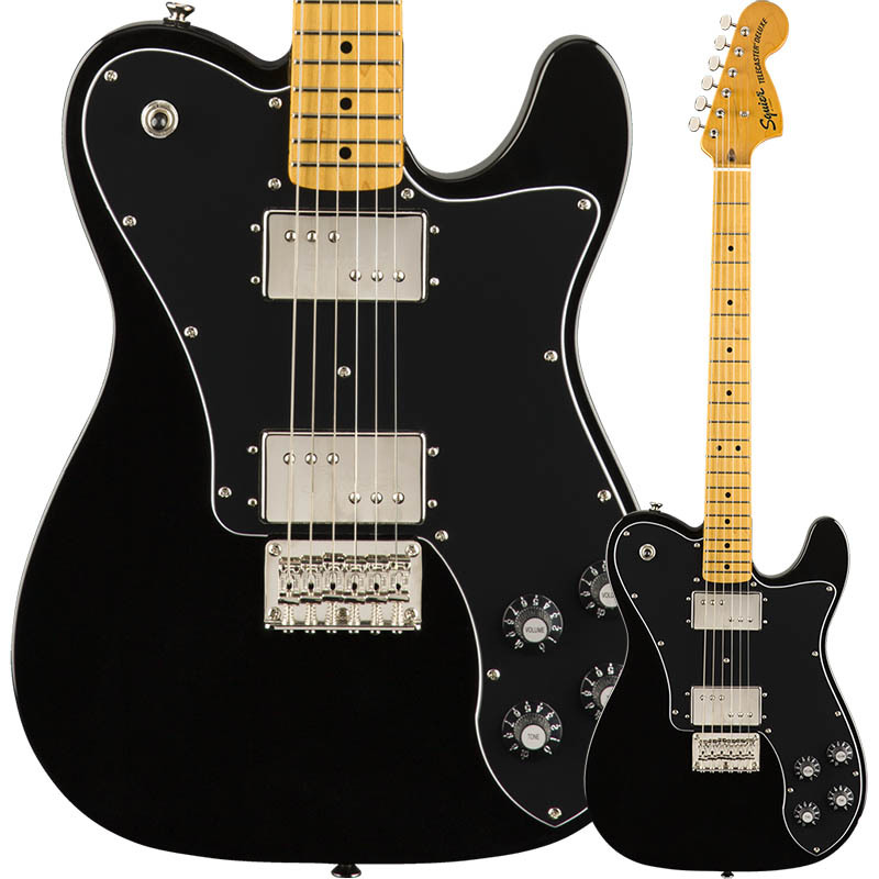 Squier by Fender Classic Vibe '70s Telecaster Deluxe Black【スクワイヤー】