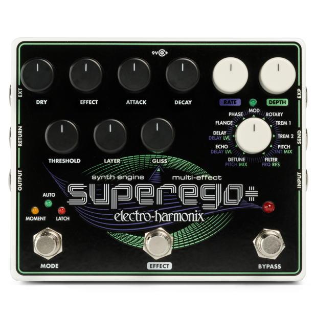 Electro Harmonix/Superego+ ギターシンセ【エレクトロハーモニクス】【正規輸入品】
