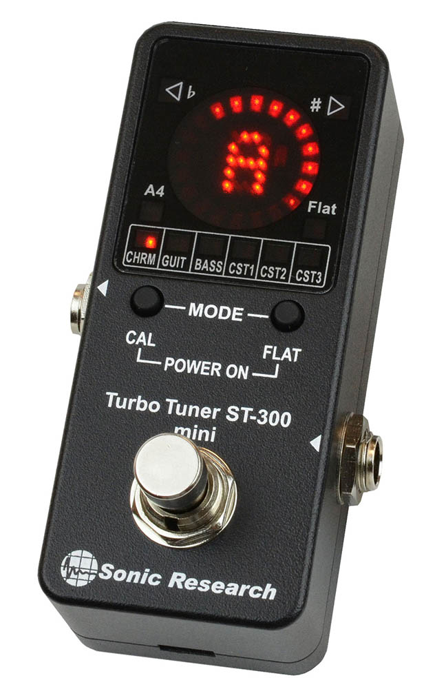 Sonic Research Turbo Tuner ST-300 mini 高精度ストロボ・チューナー