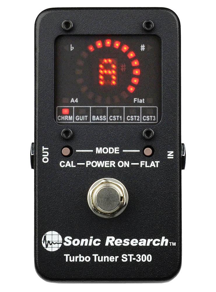Sonic Research Turbo Tuner ST-300 高精度ストロボ・チューナー