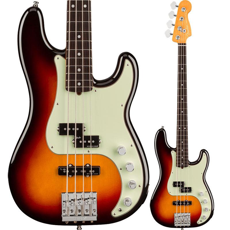 Fender American Ultra Precision Bass, Rosewood Fingerboard, Ultraburst【フェンダーUSAプレシジョンベース】