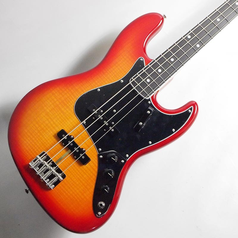 Fender Rarities Flame Ash Top Jazz Bass, Ebony Fingerboard, Plasma Red【フェンダーUSA限定ジャズベース】