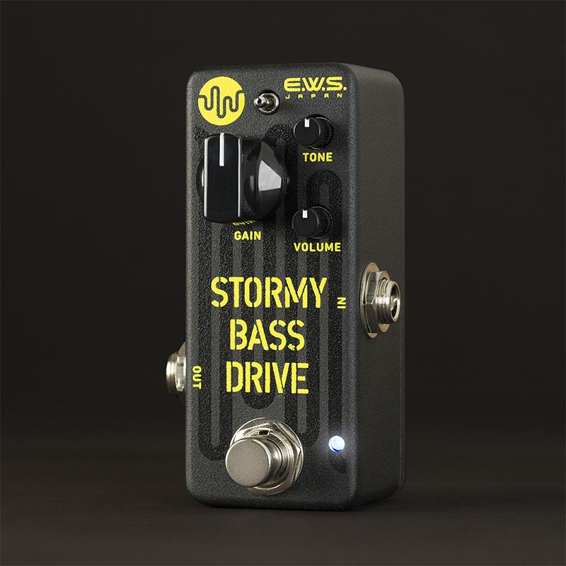 E.W.S./Stormy Bass Drive(SBD)ベース専用オーバードライブペダル【EWS】