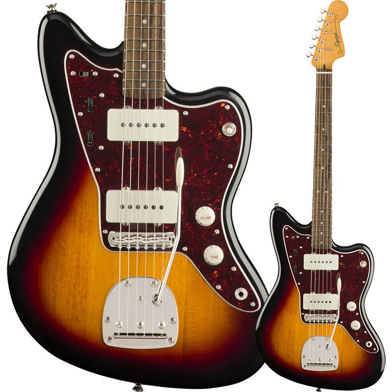 お買い得モデル Squier by Fender Classic by Vibe '60s Fingerboard, Jazzmaster, Squier Laurel Fingerboard, 3-Color Sunburst【スクワイア フェンダージャズマスター】, ブランベント:6ed1bcd8 --- promilahcn.com