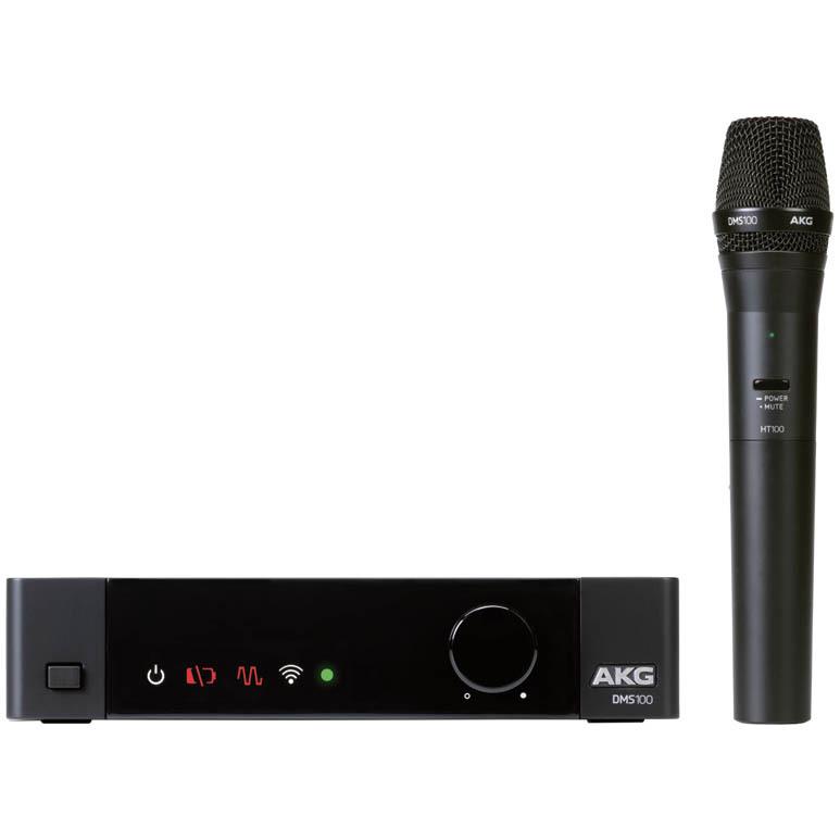 AKG DMS100 SET ハンドヘルドマイク ワイヤレスマイク【アーカーゲー】