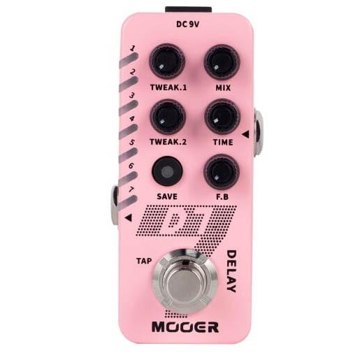Mooer D7 ディレイ ルーパー ギター エフェクター