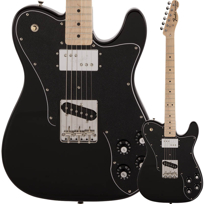 Fender Made in Japan Traditional 70s Telecaster Custom, Maple Fingerboard, Black【フェンダージャパンテレキャスターカスタム】