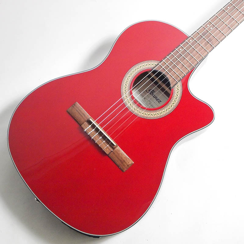 Ibanez GA30TCE-TRD (Transparent Red) エレガット【アイバニーズ】