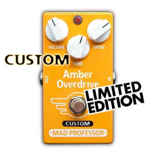Mad Professor Amber Overdrive FAC For Bass MOD ベース用オーバードライブ エフェクター 【マッドプロフェッサー】