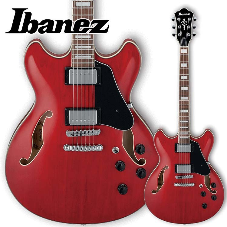 Ibanez/セミアコ AS73-TCD Transparent Cherry Red【アイバニーズ】
