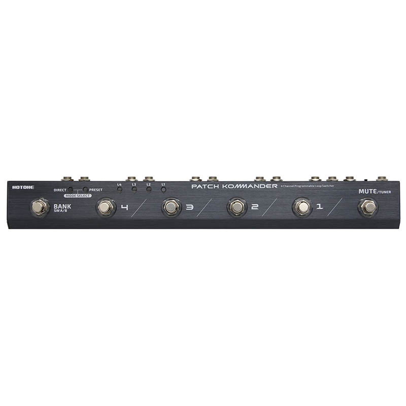HOTONE/PATCH KOMMANDER LS-10(パッチコマンダー)ループ・スイッチャー【ホットトーン】