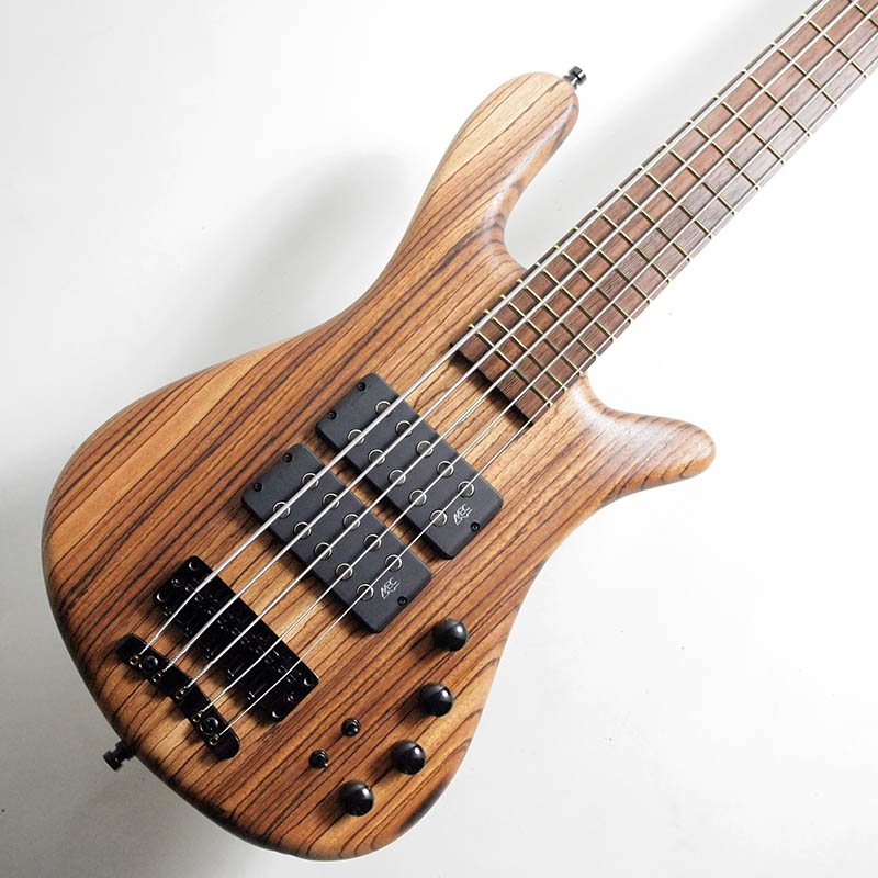 Warwick Custom shop/Streamer $$ 5st Natural Oil Finish/Zebrano Top【ワーウィック】【Made in Germany】