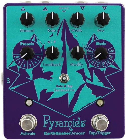Earthquaker Devices Pyramids ステレオ フランジャー【アースクエイカーデバイセス】