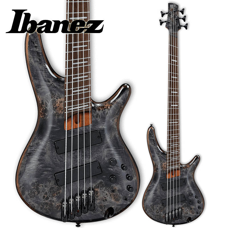 Ibanez/5弦マルチ・スケールエレキベース SRMS805-DTW (Deep Twilight)【アイバニーズ】