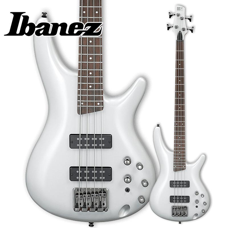 Ibanez/エレキベース SR300E-PW (Pearl White)【アイバニーズ】