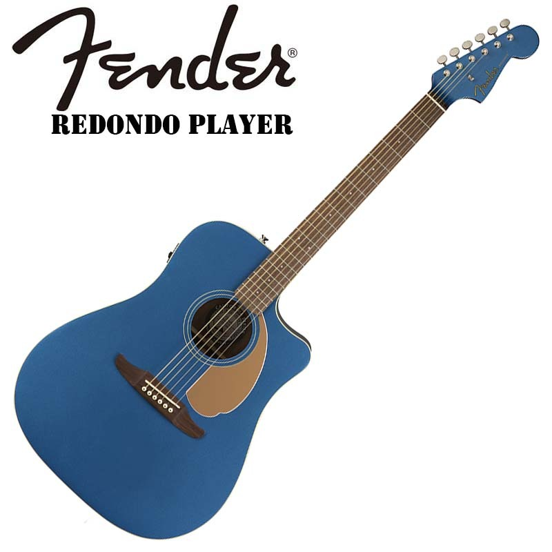 激安ブランド Fender Redondo/エレアコ Redondo Fender/エレアコ Player Player Belmont Blue【フェンダー】【正規輸入品】, 金港スポーツ:a8d12f8f --- canoncity.azurewebsites.net