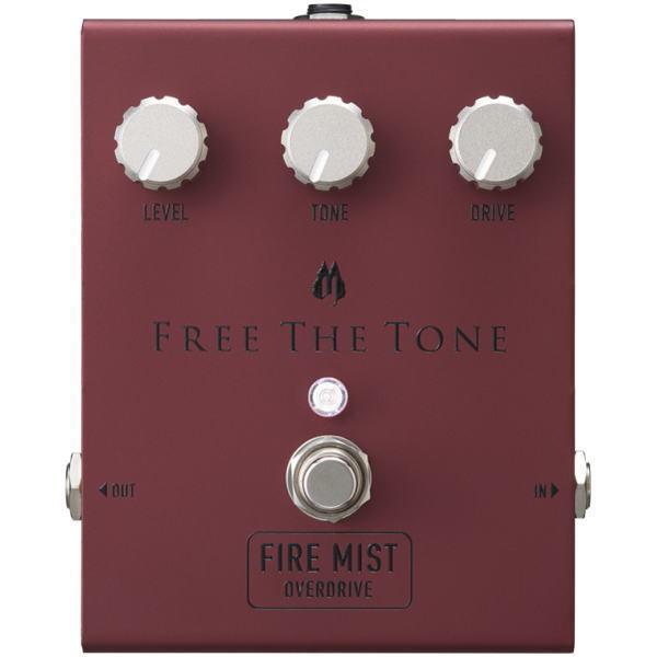 Free The Tone 今ダケ送料無料 FIRE オーバードライブ フリーザトーン 卸売り MIST FM-1V