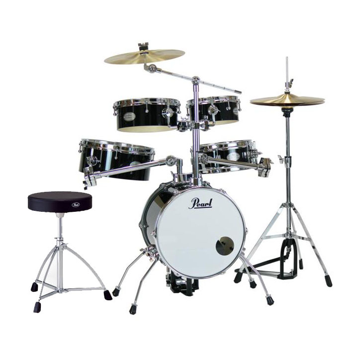 Pearl/Rhythm Traveler RT-645N/C ブラックリズムトラベラー ミニドラム トラベルドラム【パール】【アウトドア】