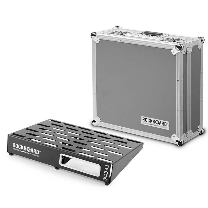 RockBoard QUAD 4.1 46 x 32,6 with Flightcase エフェクターボード【ロックボード】