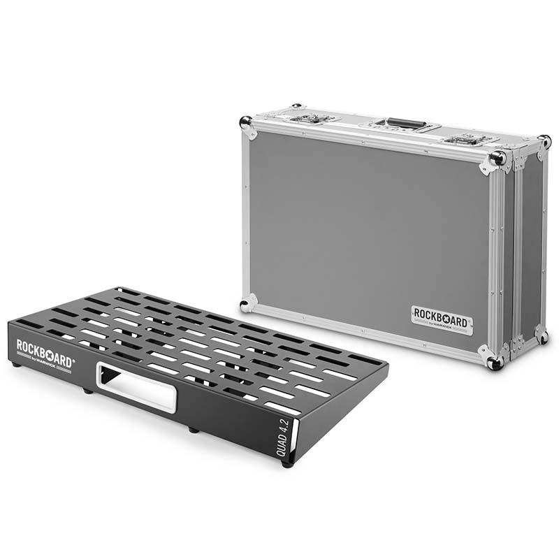RockBoard QUAD 4.2 61 x 32,6 with Flightcase エフェクターボード【ロックボード】
