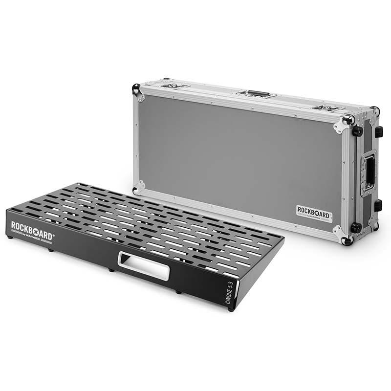 RockBoard CINQUE 5.3 81 x 41,6 with Flightcase エフェクターボード【ロックボード】