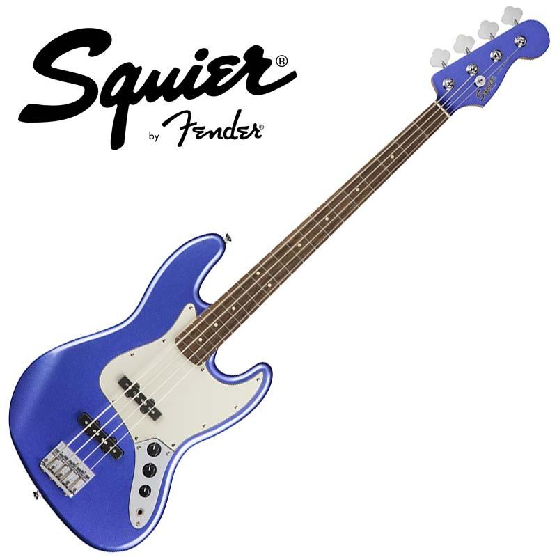 Squier by Fender Contemporary Jazz Bass Ocean Blue Metallic【スクワイア フェンダー】