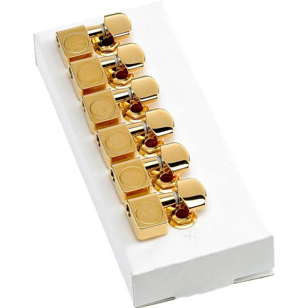 Fender American Professional Staggered Stratocaster/Telecaster Tuning Machines Gold ペグ【フェンダー】