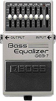 BOSS/Bass Equalizer GEB-7 ベース・イコライザー【ボス】