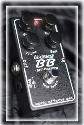XOTIC/Bass BB Preamp【エキゾチック】【Xotic Effects】