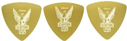 WEB限定 3 980円以上は送料無料 一部地域を除く CLAYTON ULTEM 日本未発売 トライアングル クレイトン PICKS