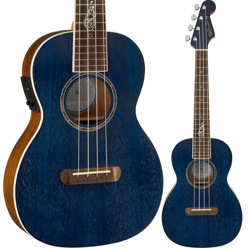 Fender Dhani Harrison Uke Sapphire キャンペーンもお見逃しなく ハリスン スーパーセール期間限定 ダーニ Blue フェンダー