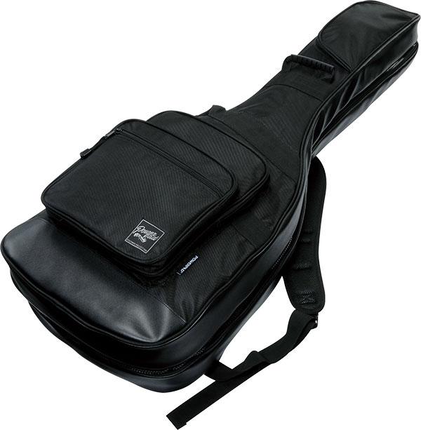 Ibanez [アイバニーズ] エレキギター+アコースティックギターバッグ IGAB2540-BK ジョイント方式の2本収納可能バッグ