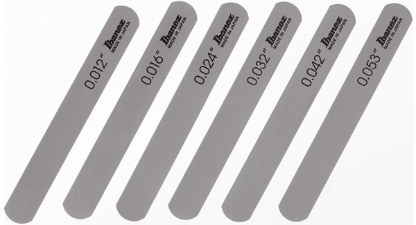Ibanez[アイバニーズ] アコースティックギター用 ナット・ファイルセット  スタンダードな、ライトゲージ用
